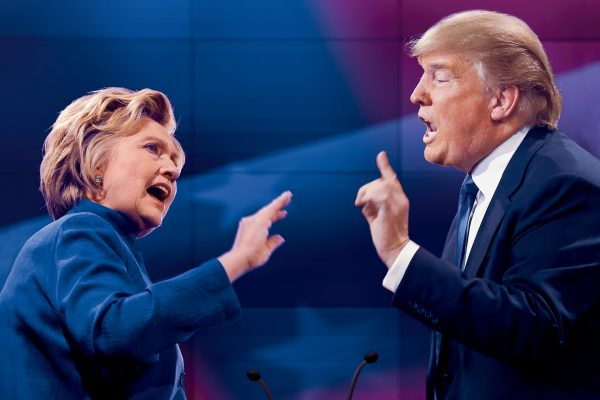 Hillar-Clinton-and-Donald-Trump-attack-each-other