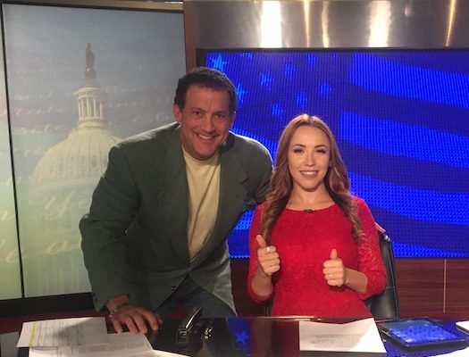 Stephanie Hamill OANN Anchor
