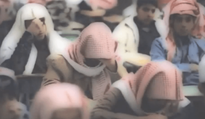 Saudi-schoolchildren