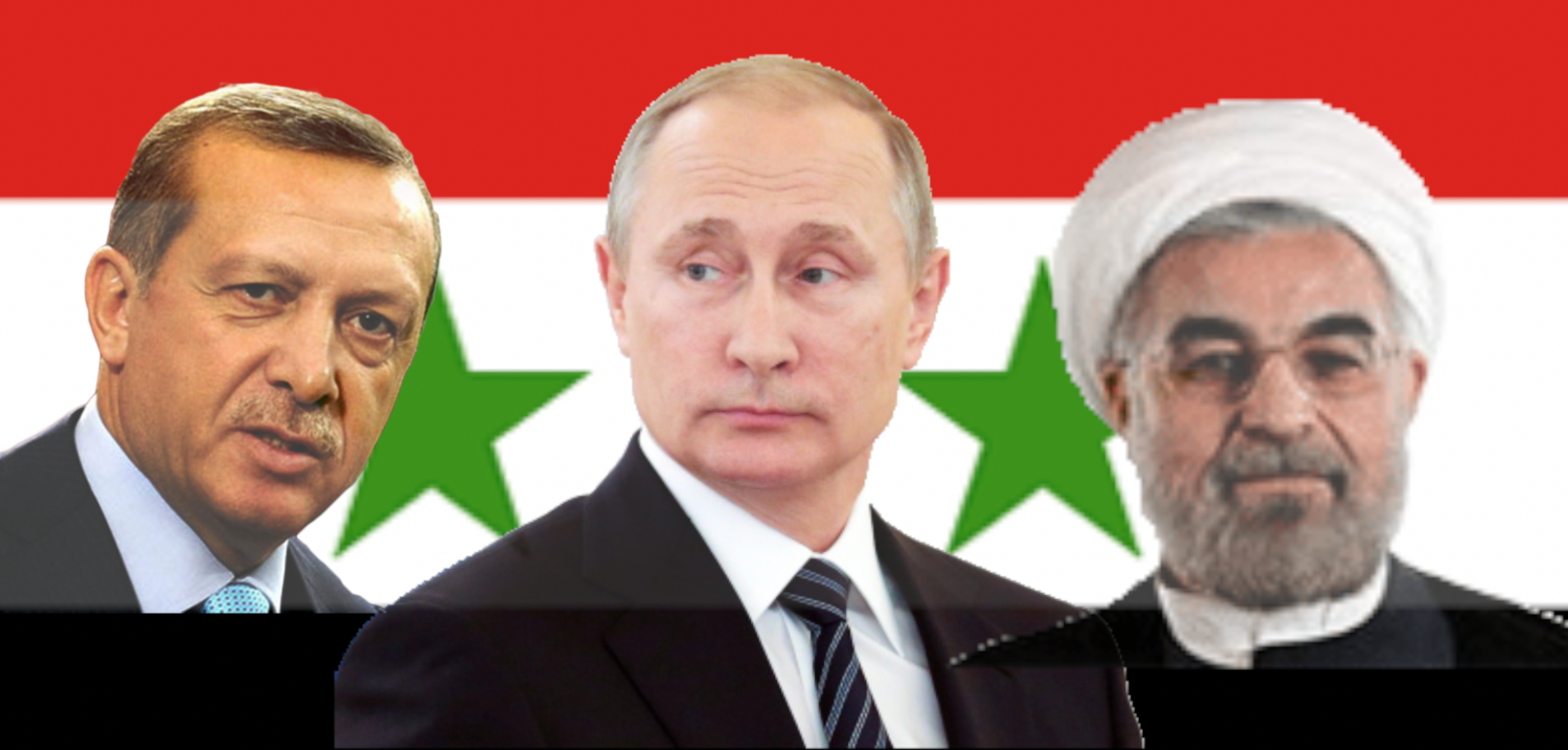 Iran, Russia & Turkey