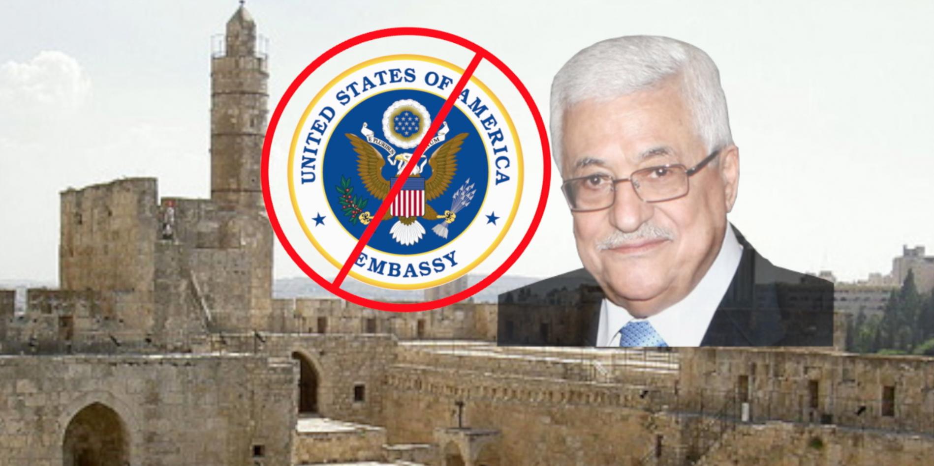 Abbas Won't Allow Embassy Move