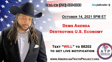 Dems Agenda Destroying U.S. Economy